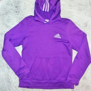 Womans Adidas Soft Purple Hoodie Size Medium